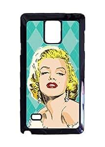 Engood Design Marilyn Monroe Pop Mint Green Case Durable Unique Design Hard Back Case Cover For Samsung Galaxy Note 4 New WANGJING JINDA