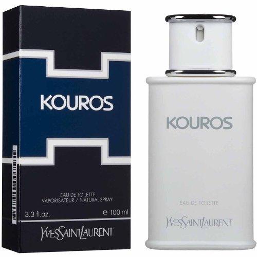 Kouros Body Men By Yves Saint Laurent - 3.3 fl oz / 100 ml Eau De Toilette Spray for Men (Packaging may - Designer St Laurent