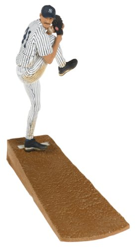 MLB Series 13 Figure: Randy Johnson #41 New York Yankees Pitcher Pinstripe Jersey