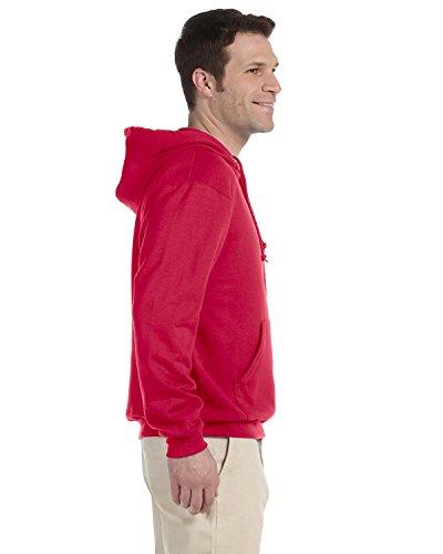 Jerzees Men's Quarter-Zip Hooded Fleece Pullover Sweatshi...