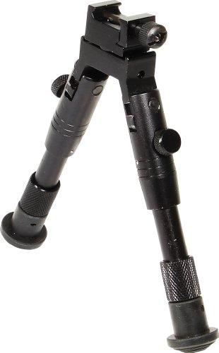 UTG Bipod, SWAT/Combat Profile, Adjustable Height, Outdoor Stuffs