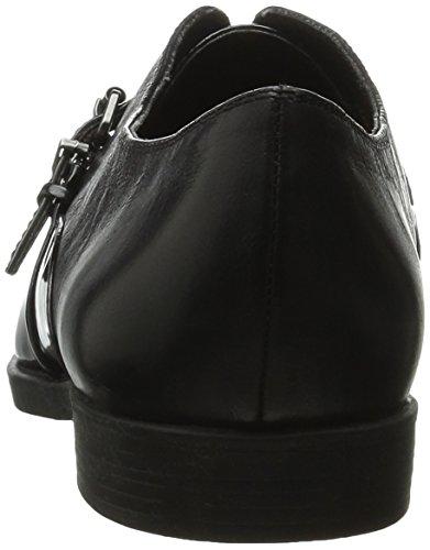 Bella Vita Reese barco de la mujer zapatos CHAROL NEGRO