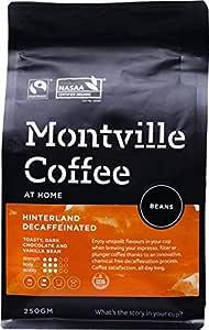 MONTVILLE COFFEE Hinterland Blend Decaf Coffee Beans 250 g, 250 g
