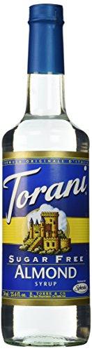 (Torani Sugar Free Almond Syrup 750mL)