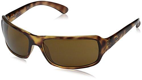 Ray-Ban RB4075 Sunglasses Havana/Crystal Brown Polarized (642/57) 61mm ()
