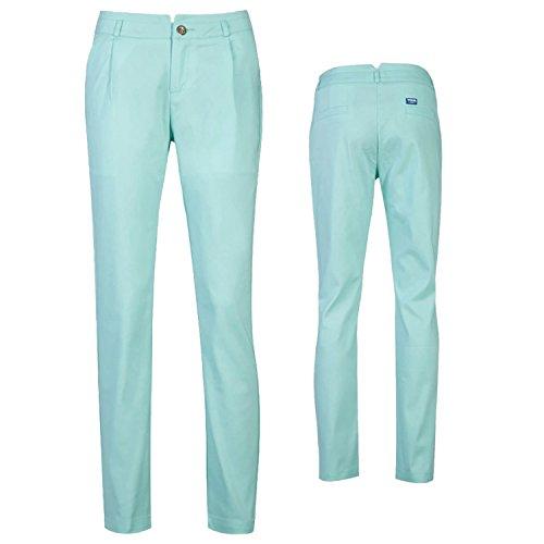 Damen Golf Lange Hose Golfhose Softshell Hosen Golf Bekleidung Blau
