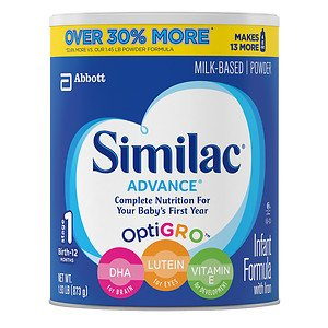 Similac Advance Complete Nutrition, Infant Formula with Iron