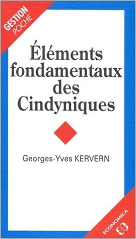 Eléments fondamentaux des cindyniques