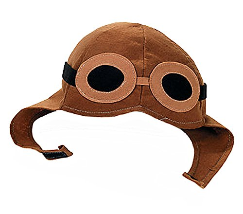 Kids Brown Aviator Pilot WWII Costume Hat for $<!--$9.00-->