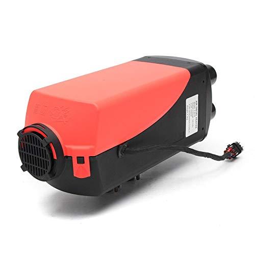 Nero e Rosso 12 V 8KW Parcheggio Diesel Air Heater Interruttore a quattro fori con Silenziatore Universale Per Serbatoio Vent Duct Termostato Caravan