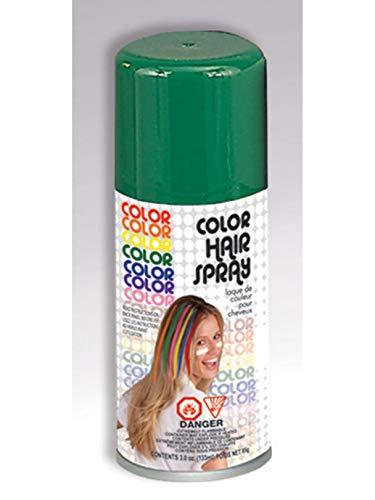 Temporary Hairspray Hair Spray Dye Green Color Can Makeup Halloween]()