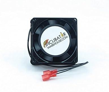 Circulated Air Fan Kit For Hova Bator Incubator 110v Ac Portable