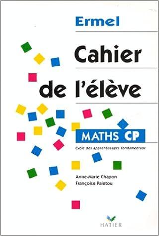 Lire en ligne Maths CP. Cahier de l'élève pdf ebook