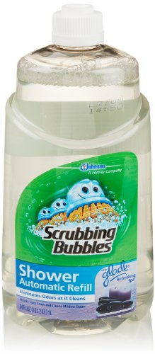 Scrubbing Bubbles Automatic Shower Cleaner Refill, Refreshing Spa, 34 Fl Oz