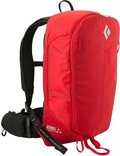 Black Diamond Pilot 11 JetForce Avalanche Airbag Pack, Fire Red, Medium/Large by Black Diamond