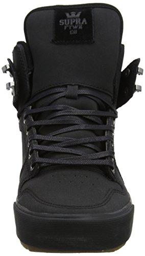 Supra Herren Vaider CW Sneaker Schwarz (Black/Black-Dark Gum)