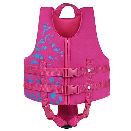 Childrens Objective Girls Deluxe Pink Hi Vis Waistcoat Reflective Velcro Fastening