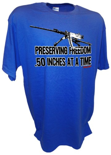 Achtung T Shirt LLC Men's Preserving Freedom .50 Inches, used for sale  Delivered anywhere in USA