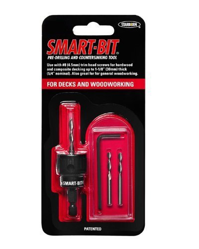 (#10 Smart-Bit Pre-Drilling and Countersinking Tool for Decks and Woodworking (item # BDA146))
