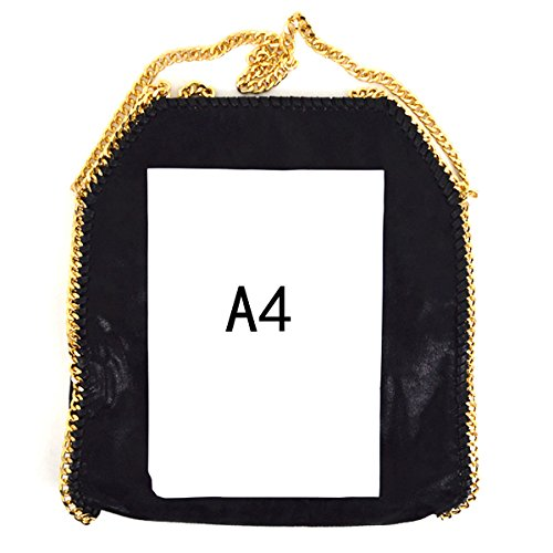 Handbags Hobo Felice Hipster Bag Foldover Purse Crossbody Chain Women Paillette Gold Shoulder Tote Chain Wqq1c6tX