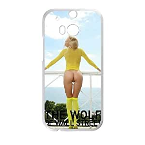 Special Design Cases HTC One M8 Cell Phone Case White The Wolf of Wall Street Qzmkx Durable Rubber Cover