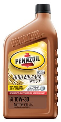 Pennzoil/Quaker State 550022838 Motor Oil, High Mileage, 5W30, 1-Qt., Must Purchase In Quantities of 6 - Quantity 6