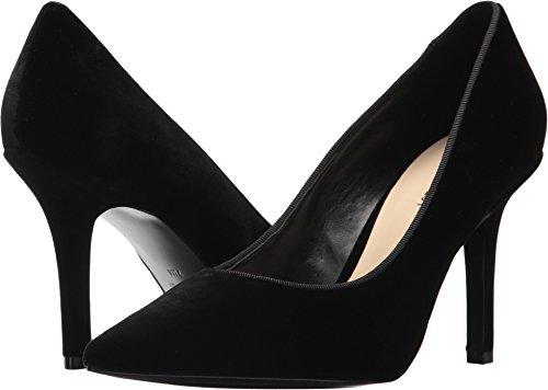 Nine West Women's Jackpot Black Velvet 8.5 M US - Leather And Velvet Pump