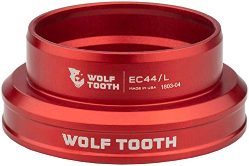 - Wolf Tooth Components EC44/40 Lower Headset Red