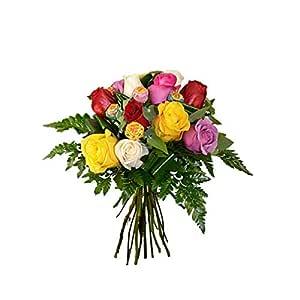 Florclick- Rosas variadas con Chupa chups. Dulce Color. Flores ...