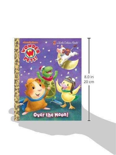 Over the Moon! (Wonder Pets!) (Little Golden Book)