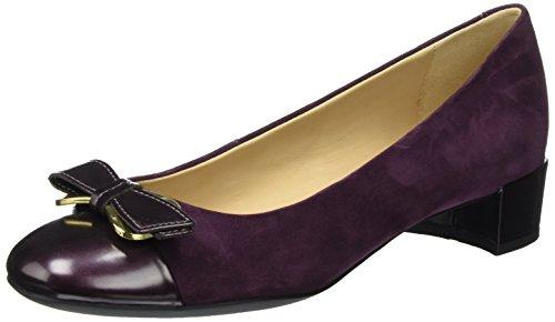 Geox D Carey a, Zapatos de Tacón para Mujer Morado (Prune)
