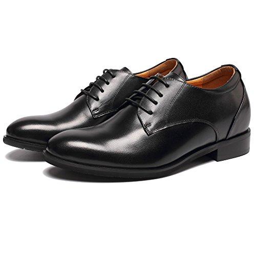 CHAMARIPA Zapatos de Oxford de Cuero Para Hombre - 7,5 cm Más Alto - DX70H106S