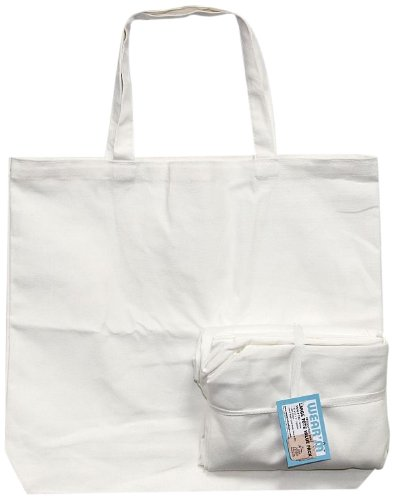 Mark Richards Wear'm? Style No.134 100-Percent Cotton 3-Piece Tote Value Pack, Large, White