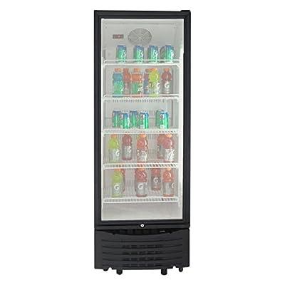 Avanti BCC113Q0W 11.3 cu. ft. Beverage Center - Black with Glass Door