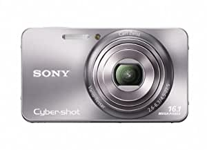 Sony Cyber-Shot DSC-W570 16.1 MP Digital Still Camera with Carl Zeiss Vario-Tessar 5x Wide-Angle Optical Zoom Lens and 2.7-inch LCD (Silver) (OLD MODEL)