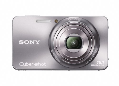 Sony Cyber-Shot DSC-W570 16.1 MP Digital Still Camera with Carl Zeiss Vario-Tessar 5x Wide-Angle Optical Zoom Lens and 2.7-inch LCD (Silver) (OLD ()