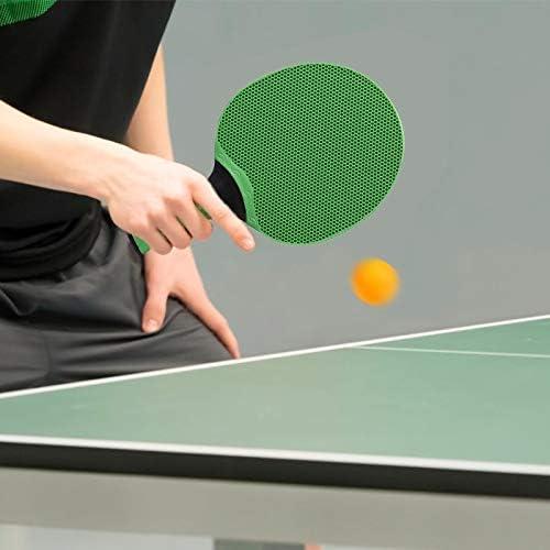 N_A - Set de tenis de mesa, raquetas de tenis de mesa, tenis de mesa, juego de entrenamiento, juego de tenis de mesa, 2 raquetas + 3 pelotas de tenis de mesa + bolsa portátil