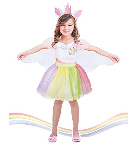 Suppromo Unicorn Costume for Girls Unicorn Outfit Tutu Dress up Dress,Unicorn Gifts -