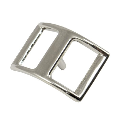 "Springfield Leather Company 3/4"" Nickel Plate Conway Buckle 10 Pack"