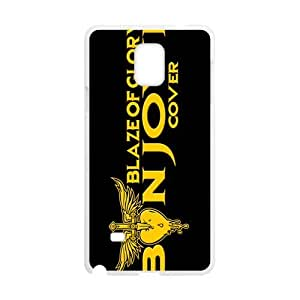 Golden Blaze of Glory Cell Phone Case for Samsung Galaxy Note4