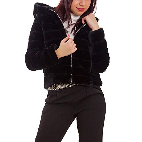 Noir Longues Small Manches Femme Toocool Blouson anBPxP