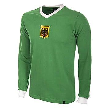 COPA Football - Camiseta Retro Alemania 2º equipación años 1970 (S): Amazon.es: Deportes y aire libre