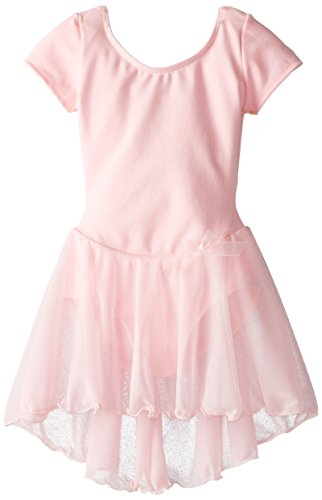 capezio-little-girls-short-sleeve-nylon-dresspinks-4-6