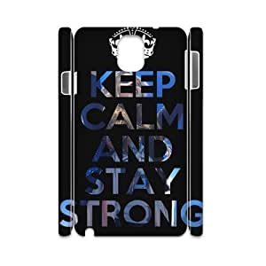 DIY High Quality Case for Samsung Galaxy Note 3 N9000 3D, Stay Strong Phone Case - HL-R656041