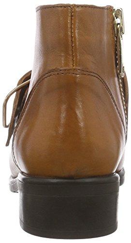 Inuovo LOUREED - botas de cuero mujer marrón - marrón (Coconut)