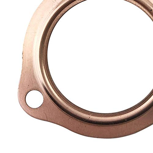 Per Newly Exhaust Gaskets 2 1/2'' Copper Header Exhaust Collector Gaskets Reusable SBC BBC 302 350 454 by Per Newly (Image #4)