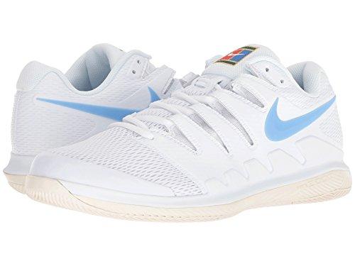 [NIKE(ナイキ)] メンズランニングシューズ?スニーカー?靴 Air Zoom Vapor X White/University Blue/Light Cream 6.5 (24.5cm) D - Medium