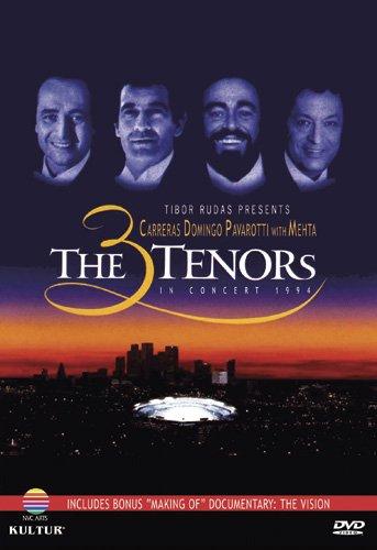DVD : Jose Carreras - The Three Tenors in Concert 1994 (DVD)