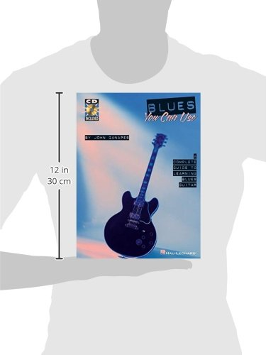 Blues You Can Use: Complete Guide to Learning Blues Guitar: Amazon.es: John Ganapes: Libros en idiomas extranjeros