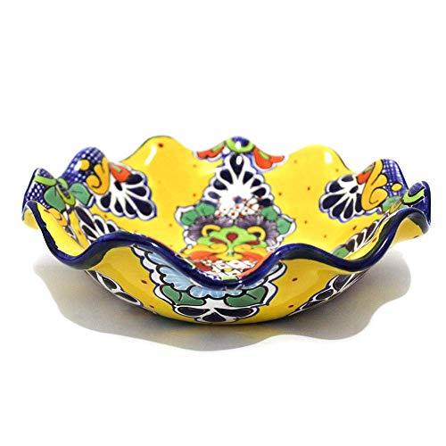 - Fruit Bowl Mexican Talavera (Yellow)